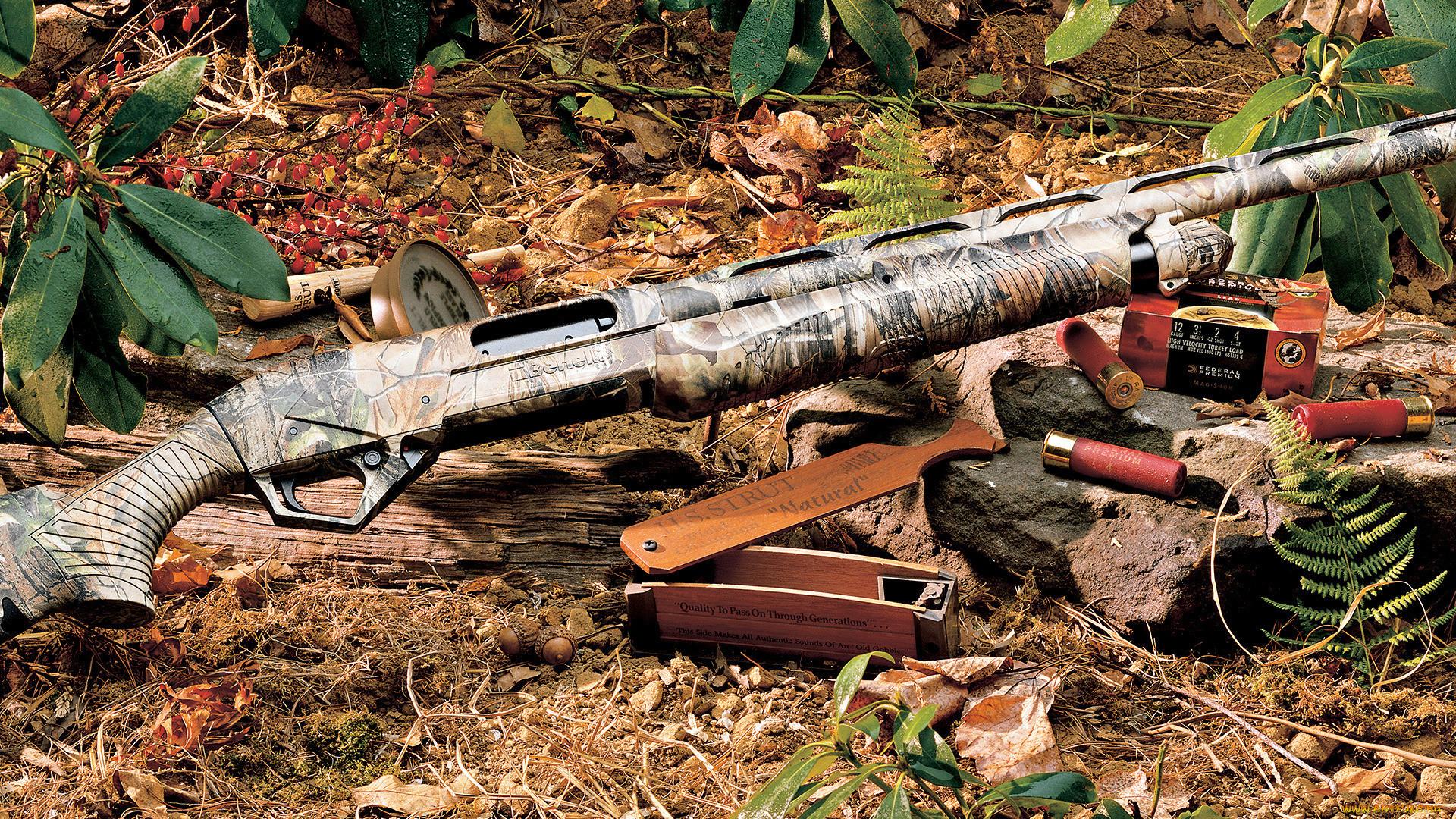 Картинки на рабочий стол оружие охоты